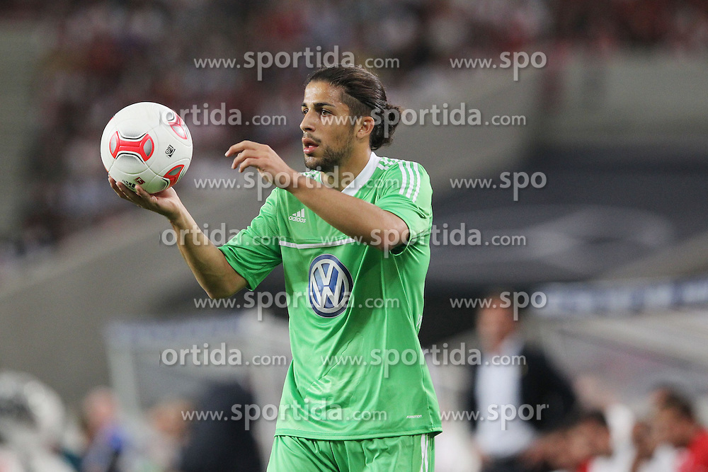 25.08.2012, Mercedes Benz Arena, Stuttgart, GER, 1. FBL, VfB Stuttgart vs VfL Wolfsburg, 1. Runde, im Bild Ricardo RODRIGUEZ (VfL Wolfsburg) // during the German Bundesliga 1st round match between VfB Stuttgart and VfL Wolfsburg at the Mercedes Benz Arena, Stuttgart, Germany on 2012/08/25. EXPA Pictures © 2012, PhotoCredit: EXPA/ Eibner/ Eckhard Eibner..***** ATTENTION - OUT OF GER *****