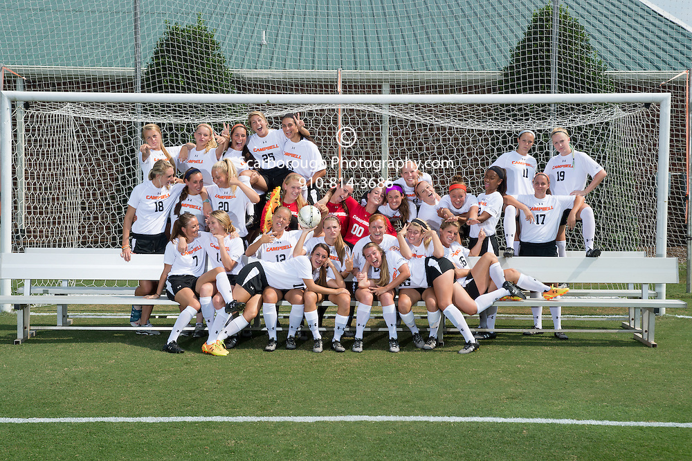 2014 Campbell University Women Soccer Teamshots