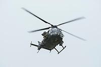 """03 APR 2012, LEHNIN/GERMANY:<br /> Scharfschuetzen feuern von einem Hubschrauber BO 105 Kampfschwimmer der Bundeswehr trainieren """"an Land"""" infanteristische Kampf, hier Haeuserkampf- und Geiselbefreiungsszenarien auf einem Truppenuebungsplatz<br /> IMAGE: 20120403-01-135<br /> KEYWORDS: Marine, Bundesmarine, Soldat, Soldaten, Armee, Streitkraefte, Spezialkraefte, Spezialkräfte, Kommandoeinsatz, Übung, Uebung, Training, Spezialisierten Einsatzkraeften Marine, Waffentaucher"""