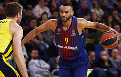 December 8, 2017 - Barcelona, Catalonia, Spain - Adam Hanga during the match between FC Barcelona v Fenerbahce corresponding to the week 11 of the basketball Euroleague, in Barcelona, on December 08, 2017. (Credit Image: © Urbanandsport/NurPhoto via ZUMA Press)