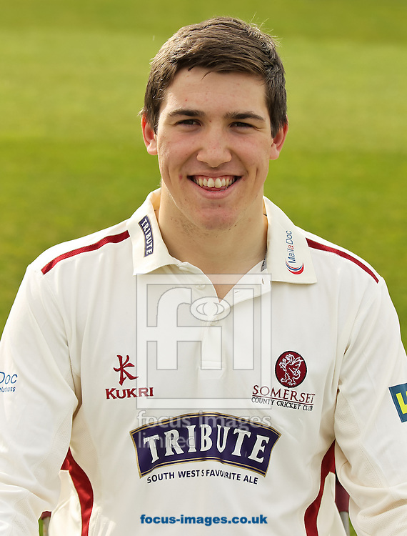 Jamie Overton pictured during Somerset County Cricket Club media day at the County Ground, Taunton, Taunton<br /> Picture by Tom Smith/Focus Images Ltd 07545141164<br /> 31/03/2014