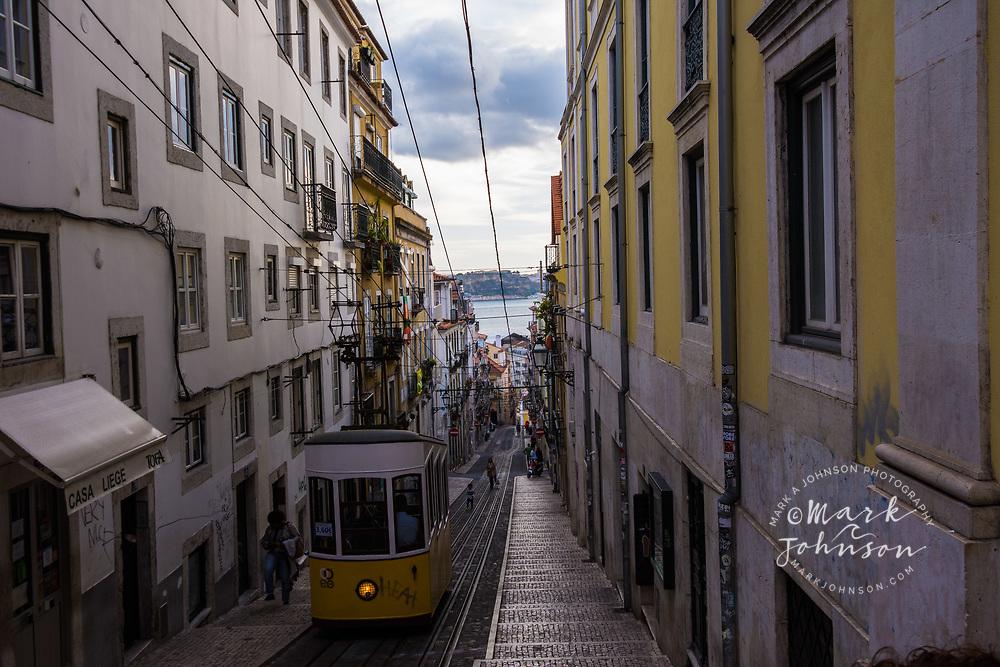 Acensior de Bica, Lisbon, Portugal
