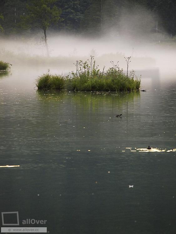 Lake Almsee, Austria, Upper Austria, lakes