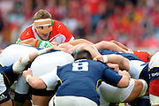 Rugby: Biarritz / Munster - 1/2Finale H Cup - 02.05.2010 - Imanol Harinordoquy
