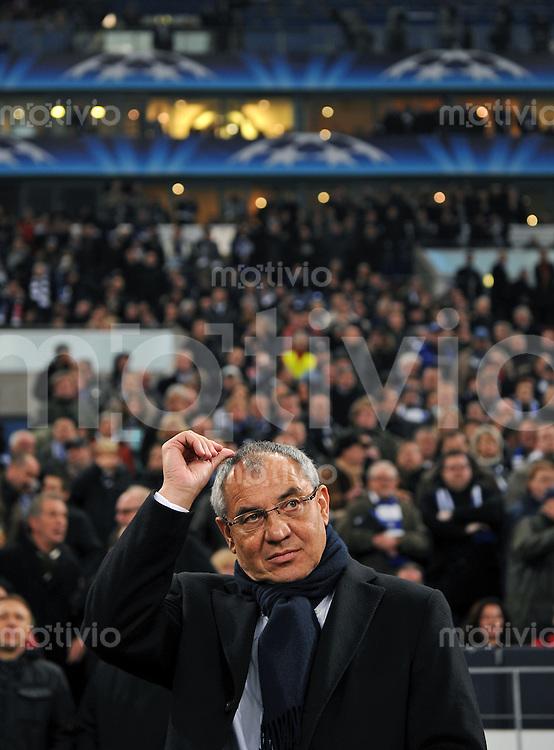 FUSSBALL   CHAMPIONS LEAGUE   SAISON 2010/2011   GRUPPE B FC Schalke 04 - Olympique Lyon               24.11.2010 Trainer Felix MAGATH (FC Schalke 04)