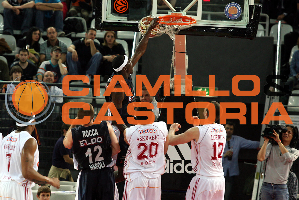 DESCRIZIONE : Roma Lega A1 2006-07 Playoff Quarti di Finale Gara 1 Lottomatica Virtus Roma Eldo Napoli<br />