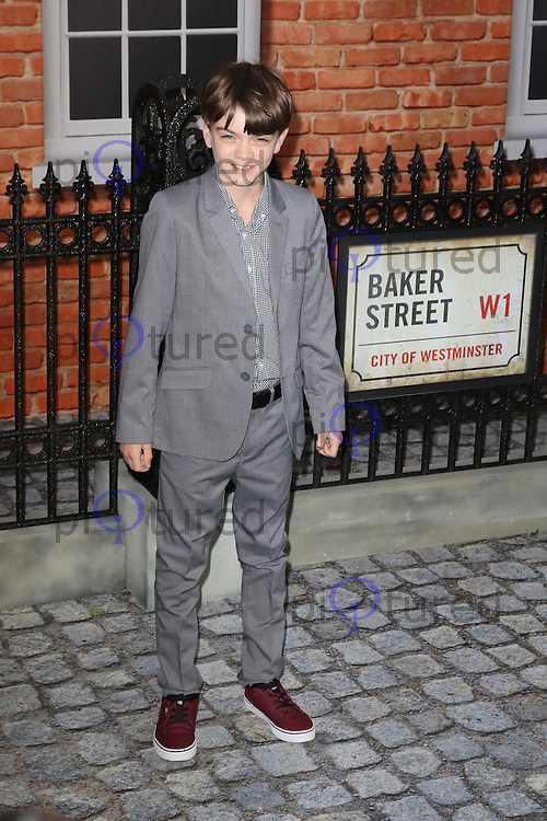 Milo Parker, Mr Holmes - UK film premiere, Odeon Kensington, London UK, 10 June 2015, Photo by Richard Goldschmidt