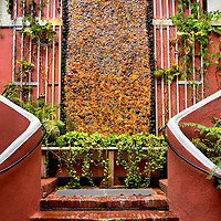 Amber Waterfall at Hotel 1829 in Charlotte Amalie, Saint Thomas<br />