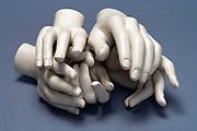 bundle of mannequin hands