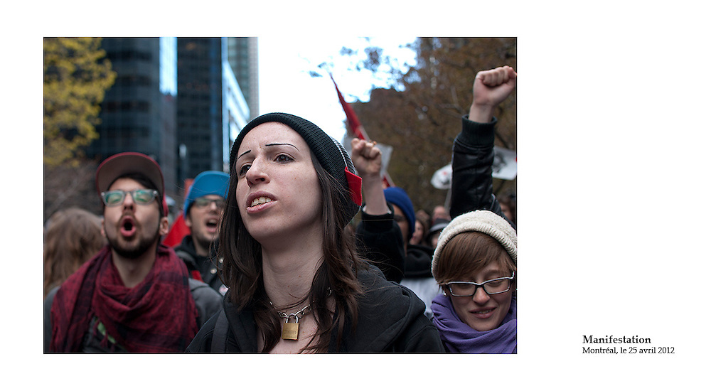 Printemps 2012, printemps érable, les carrrés rouges envahissent les rues de Montréal. La lutte étudiante embrase le Québec. Le Québec a vécu en 2012 la plus longue et la plus importante grève étudiante de son histoire.