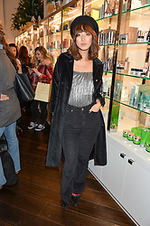 BETTY BACHZ at the launch of the Space NK Global Flagship store at 285-287 Regent Street, London on 10th November 2016.