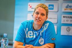 Misa Marincek during press conference of RK Krim Mercator before season 2016/2017, on August 17, 2016 in Ljubljana, Slovenia. Photo by Ziga Zupan / Sportida
