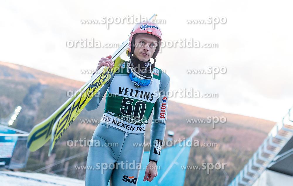 02.12.2016, Vogtland Arena, Klingenthal, GER, FIS Weltcup Ski Sprung, Klingenthal, im Bild Dawid Kubacki (POL) // Dawid  Kubacki of Poland during the mens FIS Skijumping World Cup at the Vogtland Arena in Klingenthal, Germany on 2016/12/02. EXPA Pictures © 2016, PhotoCredit: EXPA/ JFK