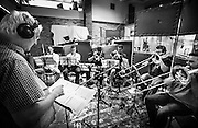 Nathan Haines and his group at York Street studios in Auckland recording his Vermillion Skies album.<br />