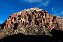 Large rock formations, Zion National Park, Utah, United States of America