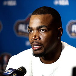 Feb 17, 2017; New Orleans, LA, USA; Eastern Conference All Star Paul Milsap during the All Star media availability at the Ritz Carlton. Mandatory Credit: Derick E. Hingle-USA TODAY Sports