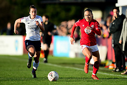 Ebony Salmon of Bristol City makes a break - Mandatory by-line: Ryan Hiscott/JMP - 19/01/2020 - FOOTBALL - Stoke Gifford Stadium - Bristol, England - Bristol City Women v Liverpool Women - Barclays FA Women's Super League
