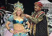 Melinda Messenger; Don Gilet First Family Entertainment Pantomime photocall, Piccadilly Theatre, London UK, 26 November 2010: piQtured Sales: Ian@Piqtured.com +44(0)791 626 2580 (picture by Richard Goldschmidt)