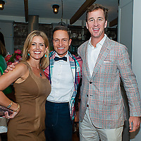 Chalon Dominick, Ken  Fulk of Ken Fulk Inc., and Cooper Manning