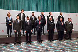 May 30, 2017 - Sopot, Poland - Family photo during the meeting of Foreign Ministers of the 'Visegrad Group' countries and eight Nordic and Baltic states at Sofitel Grand Hotel in Sopot, Poland on 30 May 2017  (Credit Image: © Mateusz Wlodarczyk/NurPhoto via ZUMA Press)