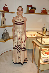 Hum Fleming at the reopening of the Cartier Boutique, New Bond Street, London, England. 31 January 2019. <br /> <br /> ***For fees please contact us prior to publication***