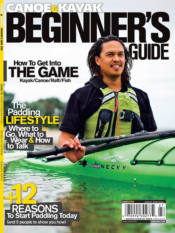 Jerry Sparks for Canoe & Kayak magazine