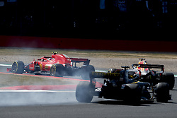 July 8, 2018 - Silverstone, Great Britain - Motorsports: FIA Formula One World Championship 2018, Grand Prix of Great Britain, .#7 Kimi Raikkonen (FIN, Scuderia Ferrari), #3 Daniel Ricciardo (AUS, Aston Martin Red Bull Racing), #27 Nico Hulkenberg (GER, Renault Sport Formula One Team) (Credit Image: © Hoch Zwei via ZUMA Wire)