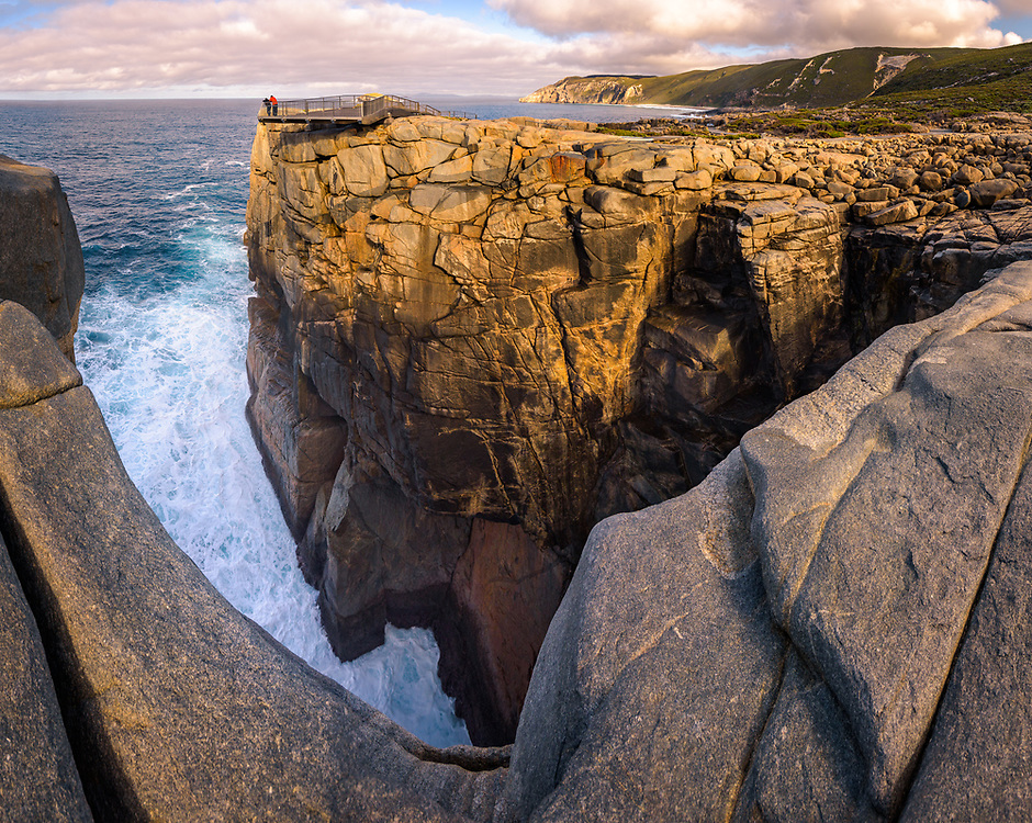 The Gap platform in Torndirrup national Park, Albany, Western Australia