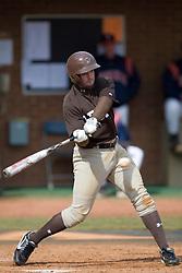 Lehigh infielder Liam O'Connor (15). The #17 ranked Virginia Cavaliers baseball team defeated the Lehigh Mountain Hawks 12-1 at the University of Virginia's Davenport Field in Charlottesville, VA on February 24, 2008.