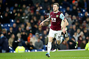 Burnley forward Ashley Barnes (10) during the Premier League match between Burnley and Manchester United at Turf Moor, Burnley, England on 28 December 2019.