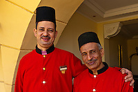 Doormen, Sofitel Winter Palace Hotel on the Corniche, Luxor, Egypt