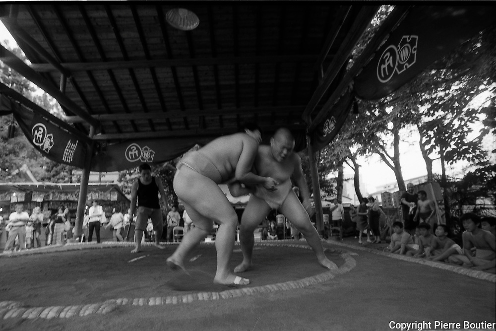 Tokyo, sumo tournament for kids and teenagers