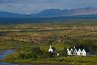 Islande, Thingvellir, Ancien parlement // Iceland, Thingvellir National Parliament, site of original parliament