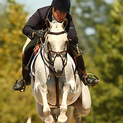 Becky Holder (USA) and Courageous Comet at the 2007 Wellpride American Eventing Championships in Wayne, IL