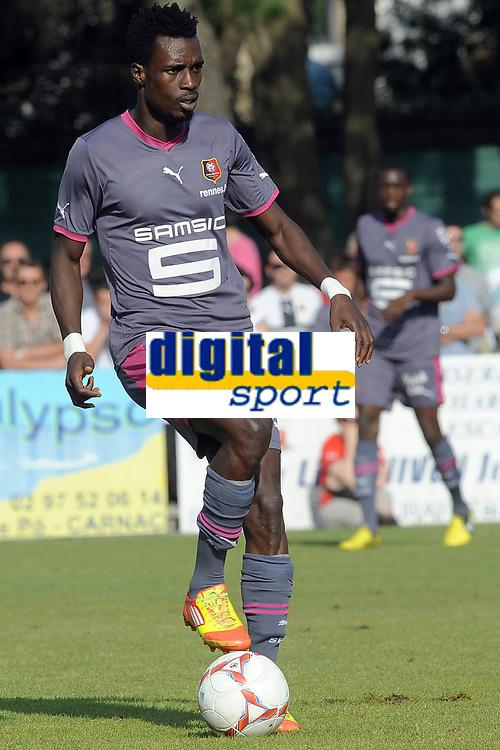 FOOTBALL - FRIENDLY GAMES 2012/2013 - STADE RENNAIS v FC LORIENT - 21/07/2011 - PHOTO PASCAL ALLEE / DPPI - JOHN BOYE (RENNES)