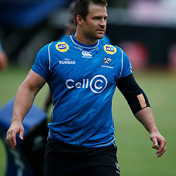 Craig Burden of the Cell C Sharks  during The Cell C Sharks training session at Jonsson Kings Park Stadium in Durban, South Africa. 21 May 2019 (Mandatory Byline Steve Haag)