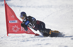 Kamino Shinnosuke during the men's Snowboard giant slalom of the FIS Snowboard World Cup 2017/18 in Rogla, Slovenia, on January 21, 2018. Photo by Urban Meglic / Sportida