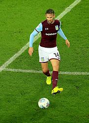 Conor Hourihane of Aston Villa - Mandatory by-line: Paul Roberts/JMP - 12/09/2017 - FOOTBALL - Villa Park - Birmingham, England - Aston Villa v Middlesbrough - Skybet Championship