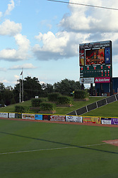 29 July 2016:  CornCrib Stadium during a Frontier League Baseball game between the Lake Erie Crushers and the Normal CornBelters at Corn Crib Stadium on the campus of Heartland Community College in Normal Illinois