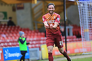 Rory McArdle celebrations during the Sky Bet League 1 match between Bradford City and Rochdale at the Coral Windows Stadium, Bradford, England on 20 February 2016. Photo by Daniel Youngs.