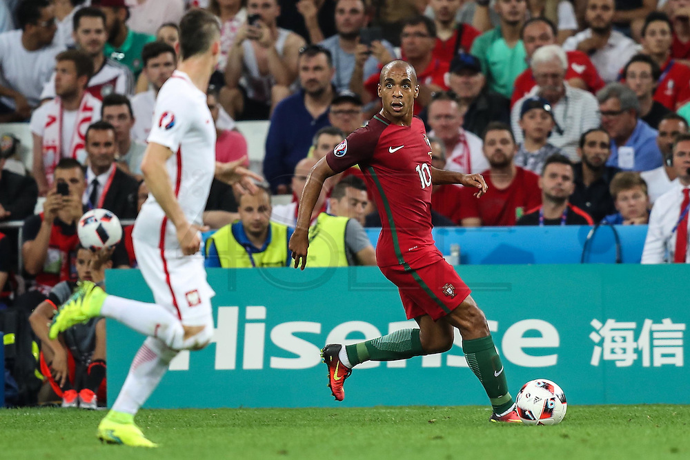 MARSEILLE, FRANCE, 06.30.2016 - PORTUGAL-POLAND - JoãoMario Portugal in the match against Poland valid for the quarterfinals of Euro 2016 at the Velodrome stadium in Marseille, on Thursday (30).