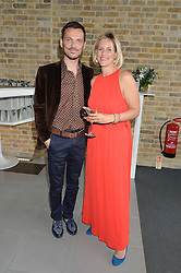 MATTHEW WILLIAMSON and BEC ASTLEY CLARKE at a summer drinks party hosted by Bec Astley Clarke at the Serpentine Sackler Gallery, Hyde Park, London on 17th June 2014.