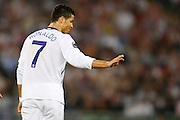 Manchester United's Cristiano Ronaldo during the UEFA Champions League Final match in Roma.May 27 2009.