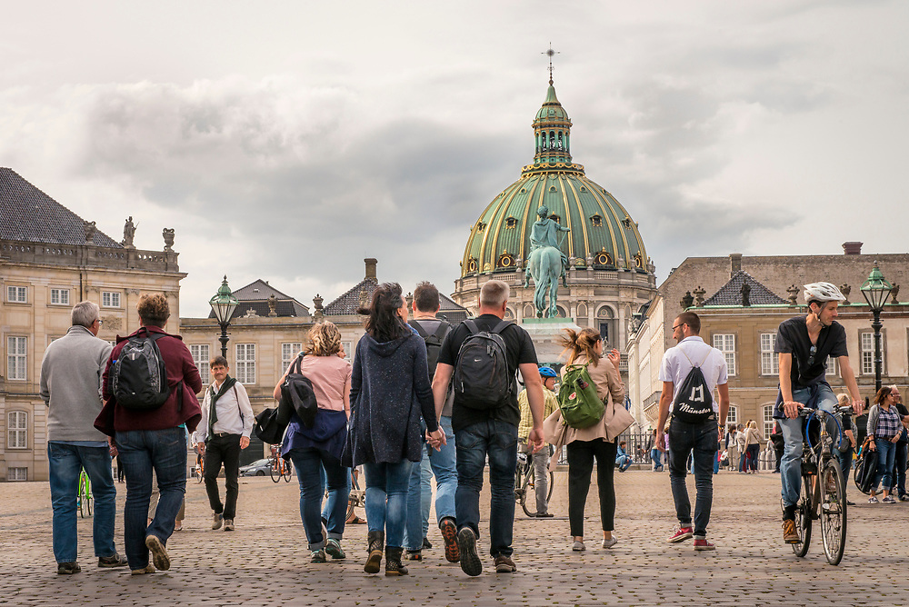 Commercial photography to promote OURWAY Walking Tours in Copenhagen