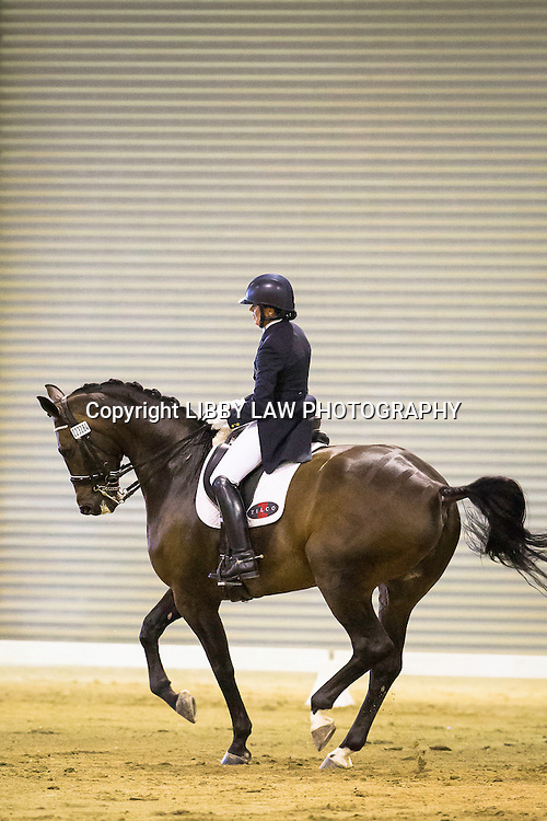 NZL-Vanessa Way (KH ARWAN) Superior Rubber Surfaces National Challenge Final CDI3* FEI Grand Prix: 2015 NZL-Bates NZ Dressage Championships, Manfeild Park - Feilding (Thursday 5 March) CREDIT: Libby Law COPYRIGHT: LIBBY LAW PHOTOGRAPHY