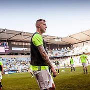Malm&ouml;  2016 05 30 Swedbank stadion<br /> Practice game at Swedbank Stadion<br /> Sweden vs Slovenia<br /> John Guidetti<br /> <br /> ----<br /> FOTO : JOACHIM NYWALL KOD 0708840825_1<br /> COPYRIGHT JOACHIM NYWALL<br /> <br /> ***BETALBILD***<br /> Redovisas till <br /> NYWALL MEDIA AB<br /> Strandgatan 30<br /> 461 31 Trollh&auml;ttan<br /> Prislista enl BLF , om inget annat avtalas.