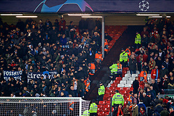 LIVERPOOL, ENGLAND - Tuesday, December 11, 2018: SSC Napoli supporters after the UEFA Champions League Group C match between Liverpool FC and SSC Napoli at Anfield. (Pic by David Rawcliffe/Propaganda)