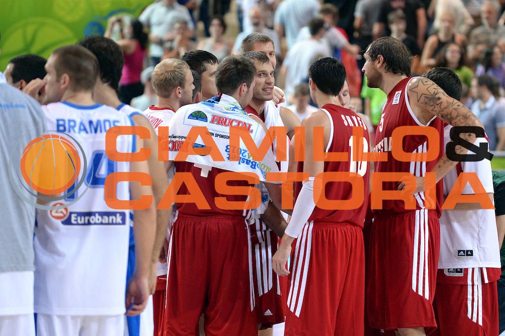 DESCRIZIONE : Capodistria Koper Slovenia Eurobasket Men 2013 Preliminary Round Russia Grecia Russia Greece<br /> GIOCATORE : Team<br /> CATEGORIA : Delusione<br /> SQUADRA : Russia<br /> EVENTO : Eurobasket Men 2013<br /> GARA : Russia Grecia Russia Greece<br /> DATA : 05/09/2013<br /> SPORT : Pallacanestro&nbsp;<br /> AUTORE : Agenzia Ciamillo-Castoria/Max.Ceretti<br /> Galleria : Eurobasket Men 2013 <br /> Fotonotizia : Capodistria Koper Slovenia Eurobasket Men 2013 Preliminary Round Russia Grecia Russia Greece<br /> Predefinita :