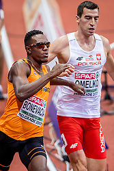 03-02-2017  SRB: European Athletics Championships indoor day 1, Belgrade<br /> In een lege Kombank Arena wordt de eerste dag van het Europees Kampioenschap gehouden / Liemarvin Bonevacia, 400 m plaatst zich voor de finale