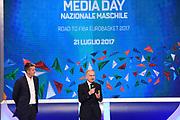 Giovanni Petrucci<br /> Raduno Nazionale Italiana Maschile Senior<br /> Media Day - Sky <br /> Milano, 21/07/2017<br /> Foto Ciamillo-Castoria/ M.Ceretti